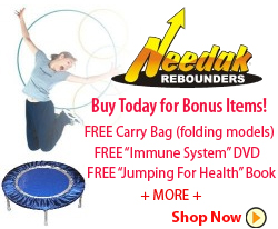 Needak Rebounders are The Highest Quality Available and Made in the USA